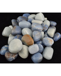 1 Lb Angelite Tumbled Stones