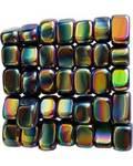 1 lb Magnetic Rainbow Hematite stones