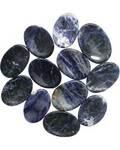 Sodalite worry stone