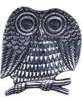 "4"" Owl ash catcher"