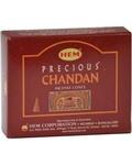 Chandan Hem Cone Incense 10pk