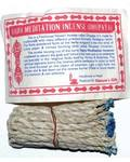 Vajra Meditation Tibetan rope incense 35 ropes