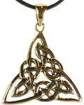 Triquetra Bronze Necklace