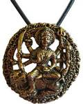 Durga, Brass Necklace