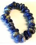 Sodalite gemstone bracelet stretch