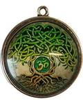 Tree of Life Dome Pendant