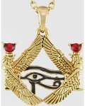 Isis Framed Eye Of Horus Necklace