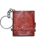 "1 3/4"" x 2"" Dream Catcher journal key chain"