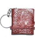 "1 3/4"" x 2"" Tree of Life journal key chain"