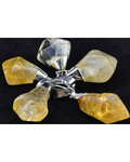 Citrine Polished Pendant