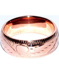 8mm Band size 9 copper