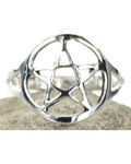 Pentagram Ring Size 9