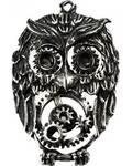 Steampunk Owl Pendant