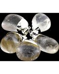 Clear Quartz Tumbled Pendant
