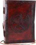 Pentagram Leather with Cord