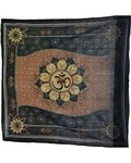 "Om Lotus Altar Cloth 36"" x 36"""