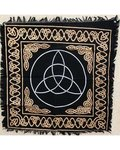 "Triquetra Altar Or Tarot Cloth 24"" x 24"""