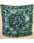 "Greenman Altar/Tarot Cloth 36"" x 36"""