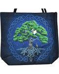 "14"" x 16"" Tree of Life jute tote bag"