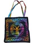 "18"" x 18"" Mandala Tree Tote Bag"