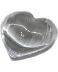 """4"""" Selenite Heart bowl"""