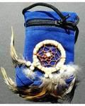 Blue bag dream catcher