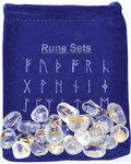 Clear Quartz rune set