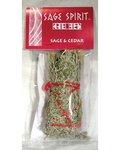 "Sage & Cedar Smudge Stick 5"""