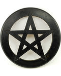 Pentagram Wall Hanging/Altar Tile 9""