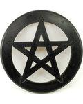 """Pentagram Wall Hanging/Altar Tile 9"""""""