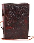 Sacred Oak Tree Leather with Cord