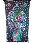 """44""""x72"""" Elephant Tree sarong"""