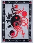 "58"" x 82"" Yin Yang tapestry"