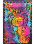 "54"" x 86"" Owl Dream Catcher Tapestry"