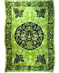 "Green Man Tapestry 72"" x 108"""