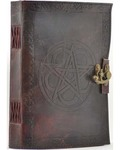 Pentagram Leather with Latch