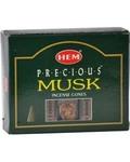 Musk Hem Cone Incense 10pk